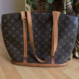 Louis Vuitton Babylone Monogram Tote